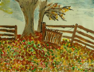 Painting - Autumn by Marie Bulger