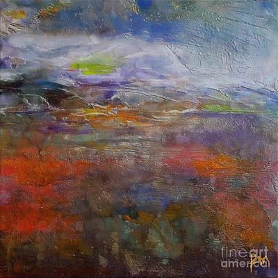 Encaustic Painting - Autumn Marsh by Dragica  Micki Fortuna