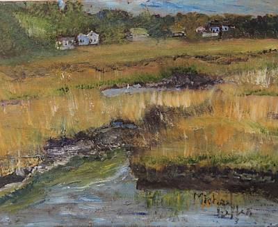 Painting - Autumn Marsh by Michael Helfen
