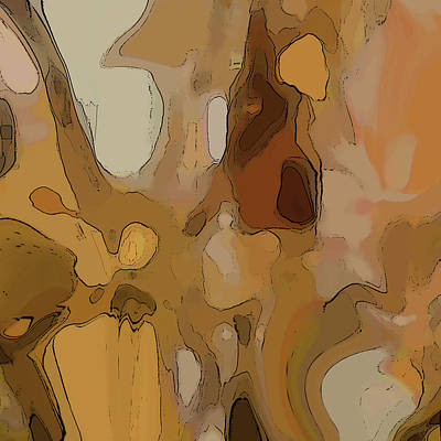 Digital Art - Autumn Melange by Gina Harrison