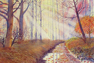 Painting - Autumn Memories by Glenn Marshall