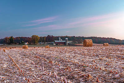 Farm Building Photograph - Autumn Memories by Todd Klassy
