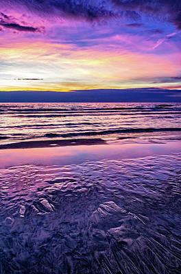 Photograph - Autumn Merging - Sauble Beach 2 by Steve Harrington
