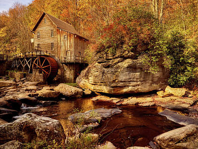 Photograph - Autumn Mill by L O C