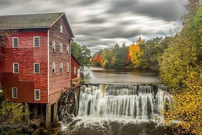 Autumn Mill Print by Mark Goodman
