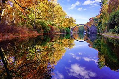 Photograph - Autumn Mirror by Dmytro Korol