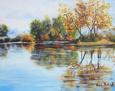 Painting - Autumn Mirror by Vesna Martinjak