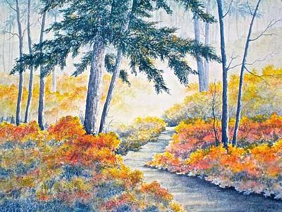 Painting - Autumn Mist by Carolyn Rosenberger