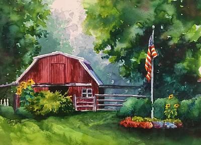 Painting - Autumn Mist by Donna Pierce-Clark