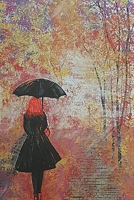 Painting - Autumn Mist by Judi Goodwin