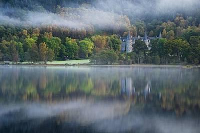 Photograph - Autumn Mist On Loch Achray by Stephen Taylor