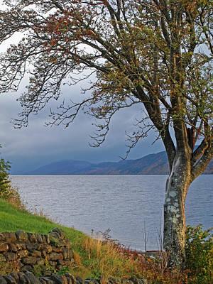 Autumn Mist On Loch Ness Art Print