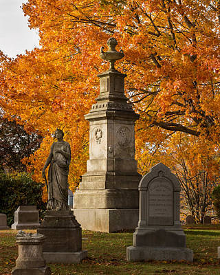 Photograph - Autumn Monument by Kirkodd Photography Of New England