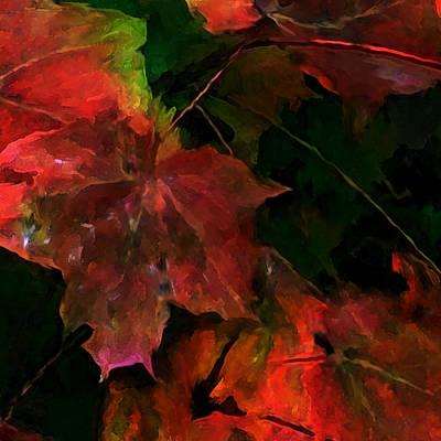 Rust Art Mixed Media - Autumn Moods 5 by Carol Cavalaris