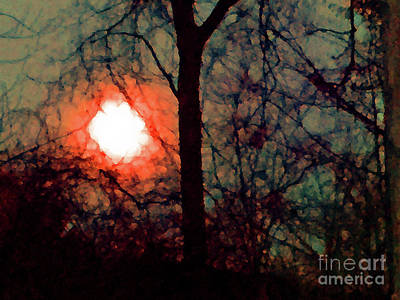Photograph - Autumn Moon by Karen Adams