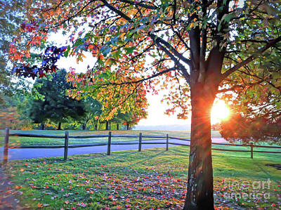 Photograph - Autumn Morning At Claytor Lake State Park  by Kerri Farley
