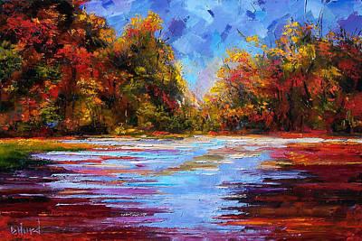 Autumn Morning Art Print by Debra Hurd