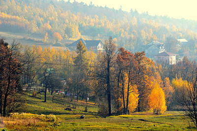 Photograph - Autumn Morning by Henryk Gorecki