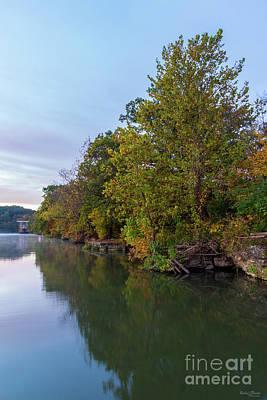 Photograph - Autumn Morning Lake Springfield by Jennifer White