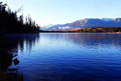 Photograph - Autumn Morning On Pyramid Lake by Larry Ricker