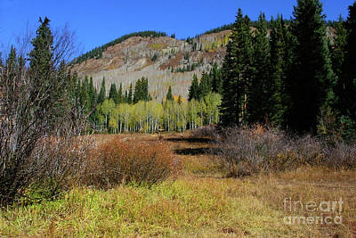 Autumn Mountain Art Print