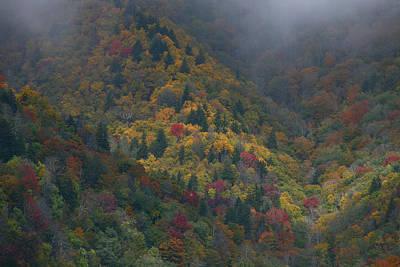 Autumn Mountains Art Print by James Jones