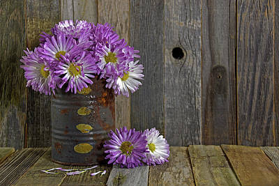 Firefighter Patents Royalty Free Images - Autumn Mum Bouquet Royalty-Free Image by Maria Dryfhout
