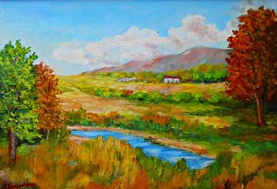Painting - Autumn Nature by Constantinos Charalampopoulos