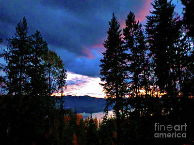 Photograph - Autumn Nightfall by Victor K