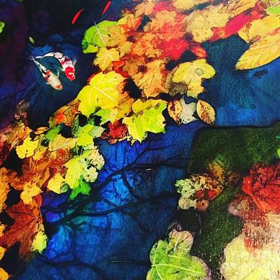 Mixed Media - Autumn Nights by Gina Signore