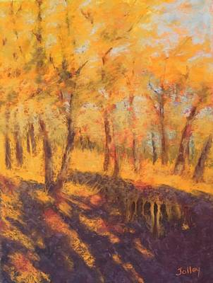 Painting - Autumn Oaks by Nancy Jolley