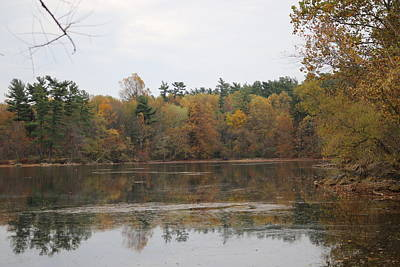Photograph - Autumn Of Loch Raven by Donald C Morgan