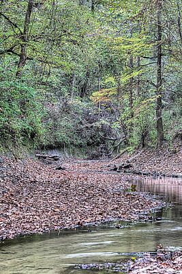 Photograph - Autumn On Bottle Creek by JC Findley