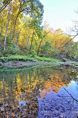 Photograph - Autumn On Brush Creek 2 by Bonfire Photography