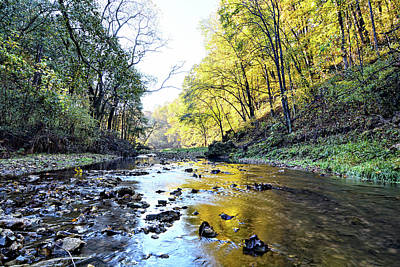Photograph - Autumn On Brush Creek 3 by Bonfire Photography