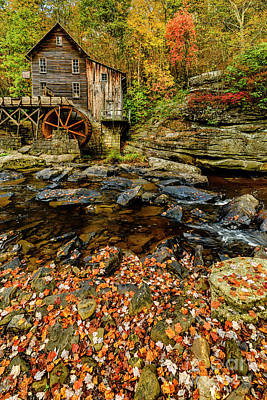 Photograph - Autumn On Glade Creek by Thomas R Fletcher