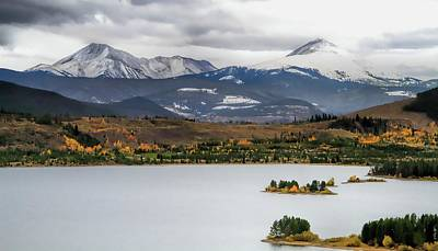 Photograph - Autumn On Lake Dillon Colorado by Dan Sproul