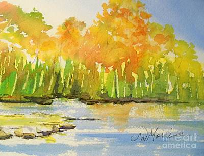 Autumn On Lake Lanier Art Print