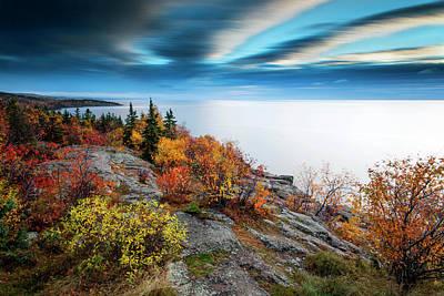 Photograph - Autumn On Palisade Head by CA Johnson