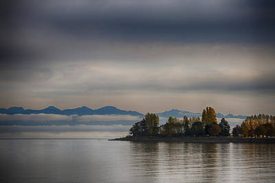 Photograph - Autumn On The Bay by Randy Hall
