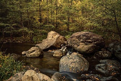 Photograph - Autumn On The Creek  by Saija Lehtonen