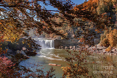 Photograph - Autumn On The Cumberland  Down River by Ken Frischkorn