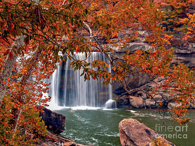 Photograph - Autumn On The Cumberland  Down River One by Ken Frischkorn