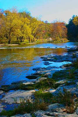 Photograph - Autumn On The Housatonic River by Polly Castor