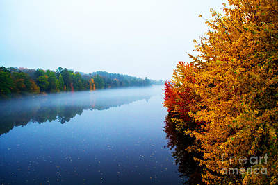 Photograph - Autumn On The Kennebec by Kevin Fortier