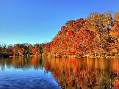 Kids Alphabet - Autumn on the Lake by Doug Swanson