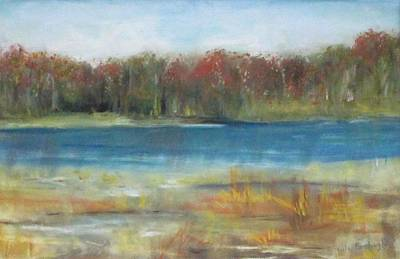 Painting - Autumn On The Maurice River by Paula Pagliughi