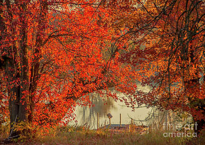 Photograph - Autumn On The Mississippi by Cheryl Baxter