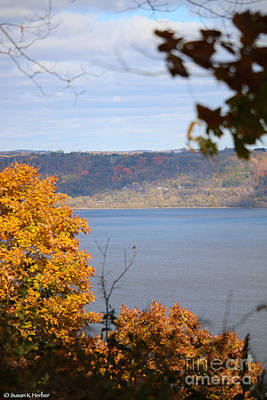 Photograph - Autumn On The Mississippi by Susan Herber