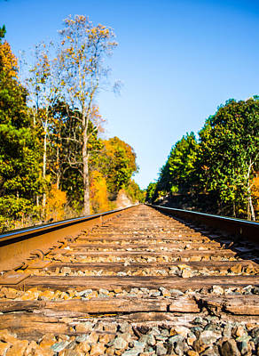 Photograph - Autumn On The Railroad by Parker Cunningham